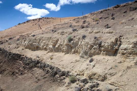 Ellensburg Formation and basalt, Washington (160718-12)