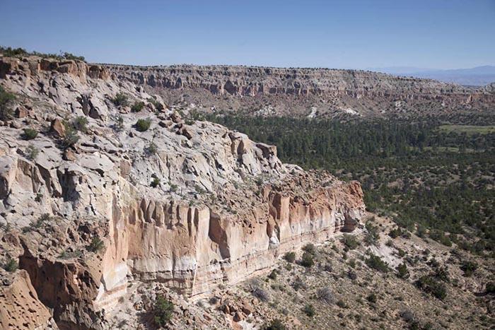 Bandelier Tuff, Los Alamos, New Mexico