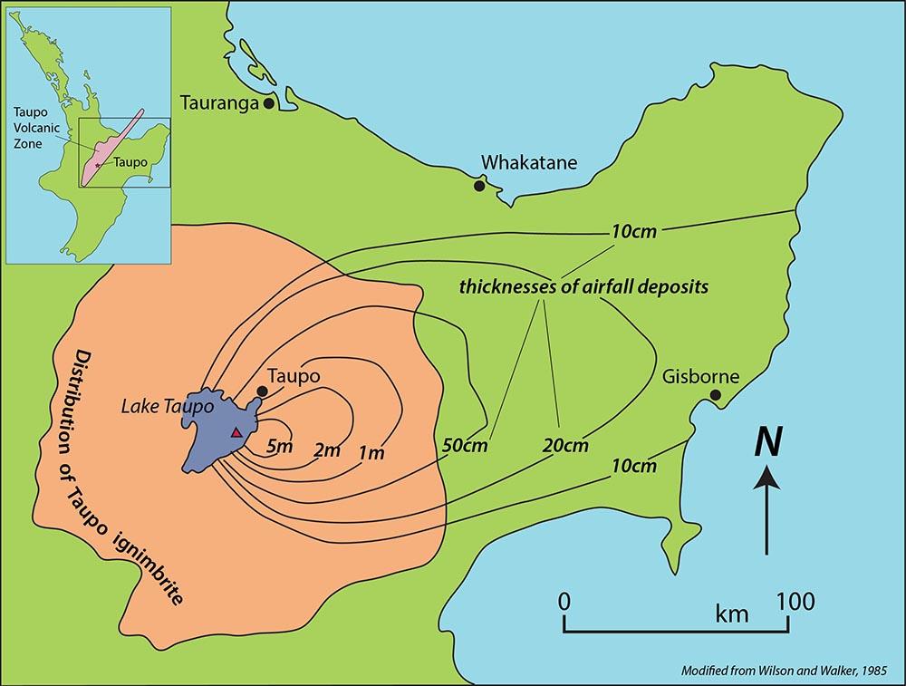 Taupo deposits
