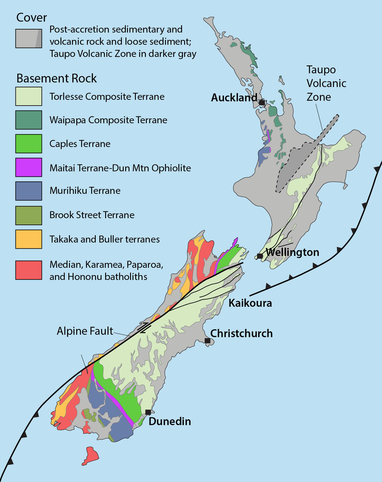 Sampling New Zealand\'s (Amazing) Geology | geologictimepics