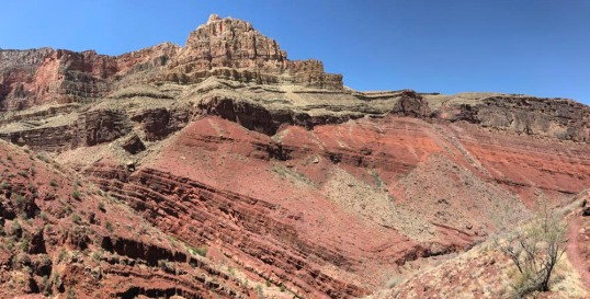 Angular Unconformity, Grand Canyon  (Pan)