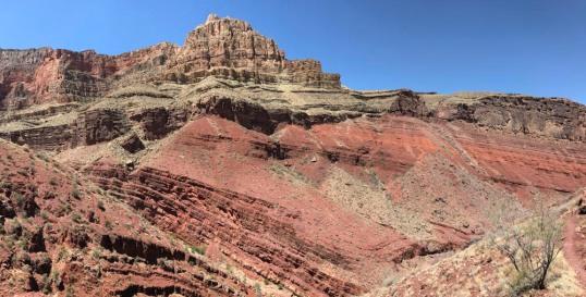 Angular Unconformity, Grand Canyon  (Pan)