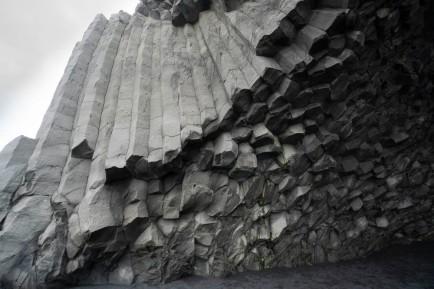 Columnar-jointed basalt, Iceland