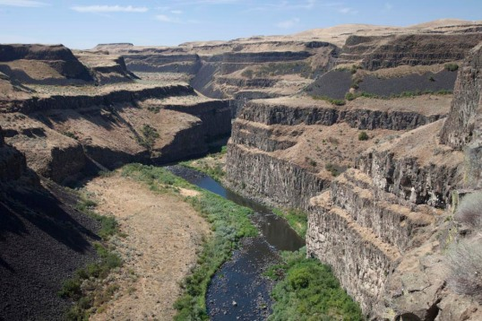 Lava Flows of Columbia River Basalt Group, Washington
