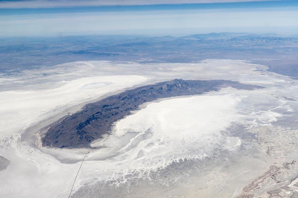 Bonneville Salt Flats and Newfoundland Mtns, Utah