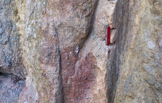 Multiple fault surfaces (vertical)