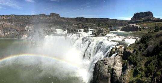 Shoshone Falls, Idaho (Pan)